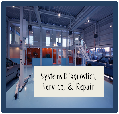 Systems Diagnostics Service and Repair Logo