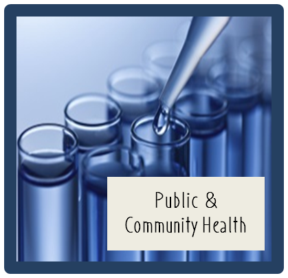Public and Community Health Logo